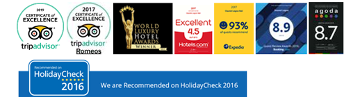 OSSOTEL in the 2015 World Luxury Hotel Awards