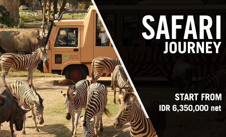 legian hotel Safari Journey Package