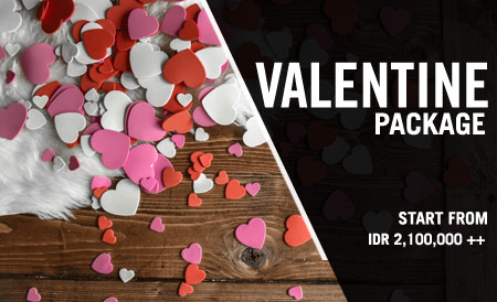 legian hotel valentine day package