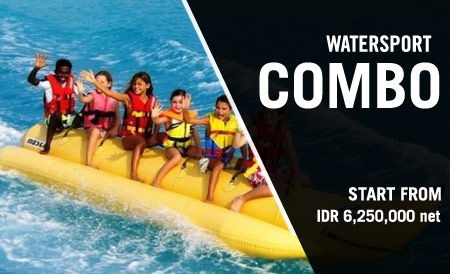 legian hotel Watersport Combo Package