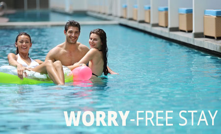 Worry Free Stay Package