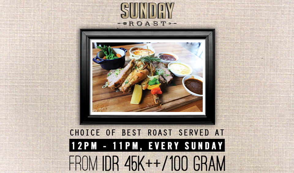 Romeos Bali Restaurant - Sunday Roast