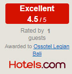 hotels.com excellence guest review