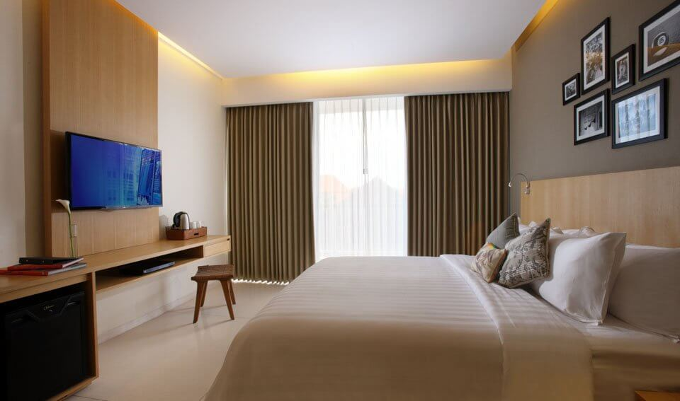 Room Type at Ossotel Legian Bali