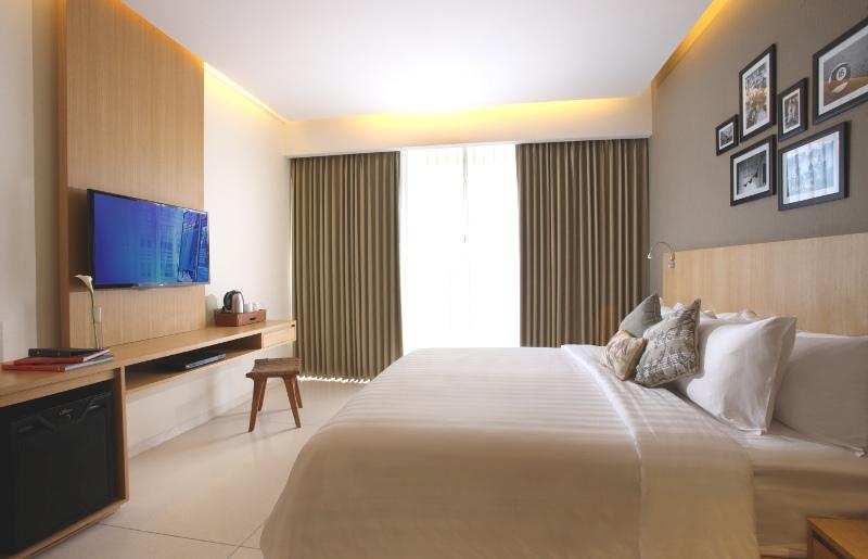 Superior Room Type at Ossotel Legian Bali
