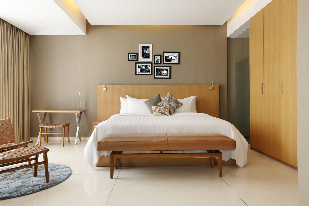 Suite Room Type at Ossotel Legian Bali